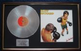 Cliff Richard - Platinum Disc And LP Cover - I'm No Hero